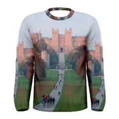 Windsor Castle Men s Long Sleeve T Shirts by trendistuff