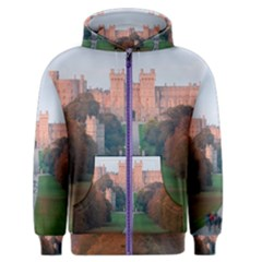 Windsor Castle Men s Zipper Hoodies by trendistuff