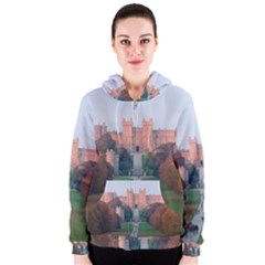 Windsor Castle Women s Zipper Hoodies by trendistuff