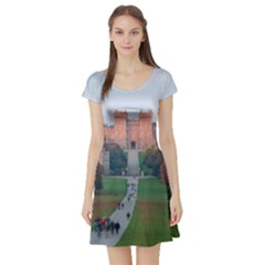 Windsor Castle Short Sleeve Skater Dresses by trendistuff