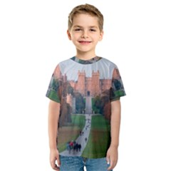 Windsor Castle Kid s Sport Mesh Tees by trendistuff