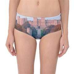 Windsor Castle Mid Waist Bikini Bottoms by trendistuff
