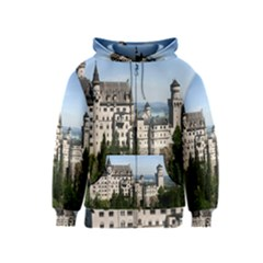 Neuschwanstein Castle 2 Kids Zipper Hoodies by trendistuff