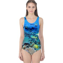 Fr Frigate Shoals One Piece Swimsuit by trendistuff