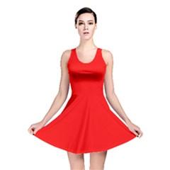 Trendy Red  Reversible Skater Dresses by Costasonlineshop