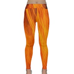 Orange Wonder 2 Yoga Leggings