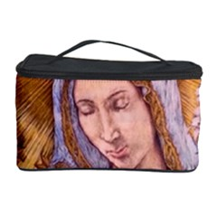 Immaculate Heart Of Virgin Mary Drawing Cosmetic Storage Cases by KentChua