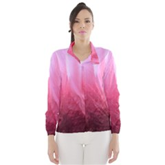Floating Pink Wind Breaker (women) by timelessartoncanvas