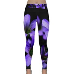 Springtime Flower Design Yoga Leggings