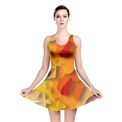 Red Spot Reversible Skater Dress by hennigdesign