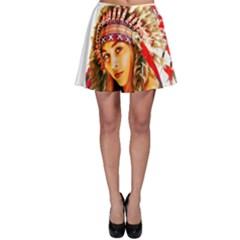 Indian 26 Skater Skirt by indianwarrior