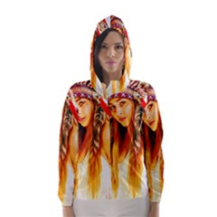 Indian 26 Hooded Wind Breaker (women) by indianwarrior
