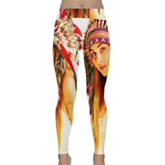 Indian 26 Yoga Leggings by indianwarrior