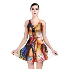 Indian 22 Reversible Skater Dress by indianwarrior