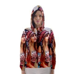 Indian 21 Hooded Wind Breaker (women) by indianwarrior