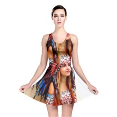 Indian 21 Reversible Skater Dress by indianwarrior