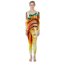Indian 29 Long Sleeve Catsuit by indianwarrior