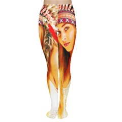 Indian 26 Women s Tights by indianwarrior