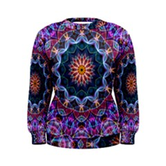 Purple Lotus Women s Sweatshirt by Zandiepants