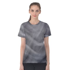 Gray Fog Women s Cotton Tee by timelessartoncanvas