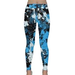 Abstract #8 Yoga Leggings by Uniqued