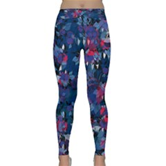 Abstract Floral #3 Yoga Leggings by Uniqued