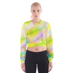 New 7 Women s Cropped Sweatshirt by timelessartoncanvas