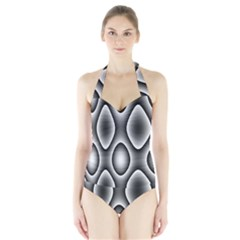New 11 Women s Halter One Piece Swimsuit by timelessartoncanvas