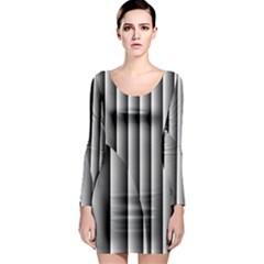 New 14 Long Sleeve Bodycon Dress by timelessartoncanvas