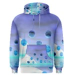Moonlight Wonder, Abstract Journey To The Unknown Men s Pullover Hoodie