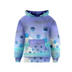Moonlight Wonder, Abstract Journey To The Unknown Kids  Pullover Hoodie