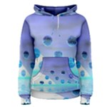 Moonlight Wonder, Abstract Journey To The Unknown Women s Pullover Hoodie