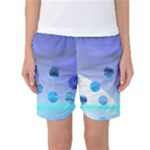 Moonlight Wonder, Abstract Journey To The Unknown Women s Basketball Shorts