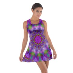 Rainbow At Dusk, Abstract Star Of Light Racerback Dresses by DianeClancy