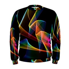 Crystal Rainbow, Abstract Winds Of Love  Men s Sweatshirt by DianeClancy