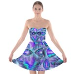 Peacock Crystal Palace Of Dreams, Abstract Strapless Dresses