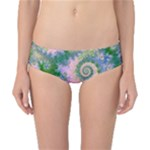 Rose Apple Green Dreams, Abstract Water Garden Classic Bikini Bottoms