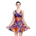 Winter Crystal Palace, Abstract Cosmic Dream (lake 12 15 13) 9900x7400 Smaller Reversible Skater Dress