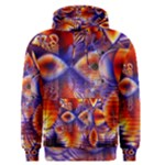Winter Crystal Palace, Abstract Cosmic Dream (lake 12 15 13) 9900x7400 Smaller Men s Pullover Hoodie