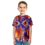 Winter Crystal Palace, Abstract Cosmic Dream (lake 12 15 13) 9900x7400 Smaller Kid s Sport Mesh Tee