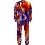 Winter Crystal Palace, Abstract Cosmic Dream (lake 12 15 13) 9900x7400 Smaller OnePiece Jumpsuit (Men)
