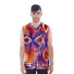 Winter Crystal Palace, Abstract Cosmic Dream (lake 12 15 13) 9900x7400 Smaller Men s Basketball Tank Top
