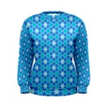 Aqua Hawaiian Stars Under A Night Sky Dance Women s Sweatshirt
