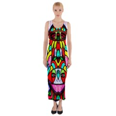 Sun Star Fitted Maxi Dress by MRTACPANS