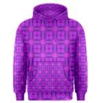 Abstract Dancing Diamonds Purple Violet Men s Pullover Hoodie