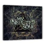 my infected soul print Canvas 24  x 20  (Stretched)