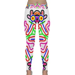 The Flower Pods Yoga Leggings by SugaPlumsEmporium