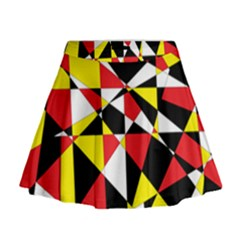 Shattered Life With Rays Of Hope Mini Flare Skirt by StuffOrSomething