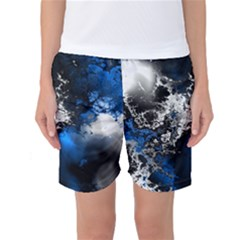 Amazing Fractal 26 Women s Basketball Shorts by Fractalworld