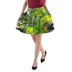 Amazing Fractal 27 A-line Pocket Skirt by Fractalworld